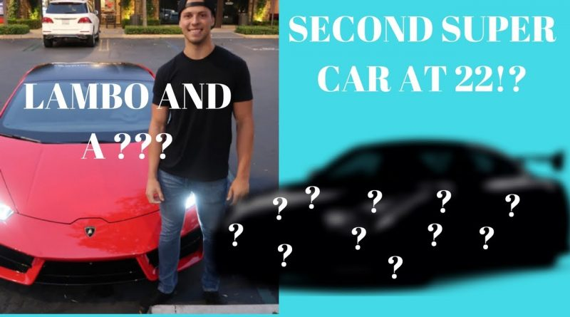 REVEALING My 2nd SUPER CAR At 22! ***NISMO GTR***