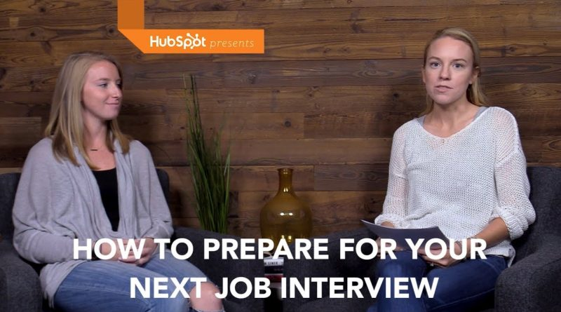How to Prepare for a Job Interview: Quick Tips from a HubSpot Recruiter