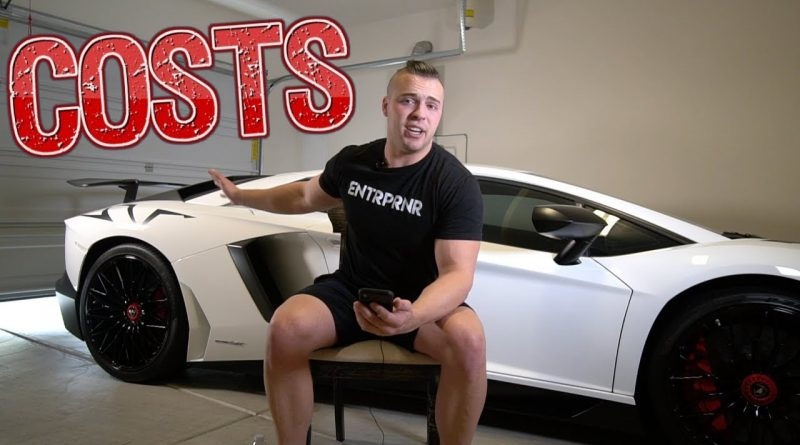 How Much Does It Cost To Own & Maintain A Lamborghini Aventador SV?