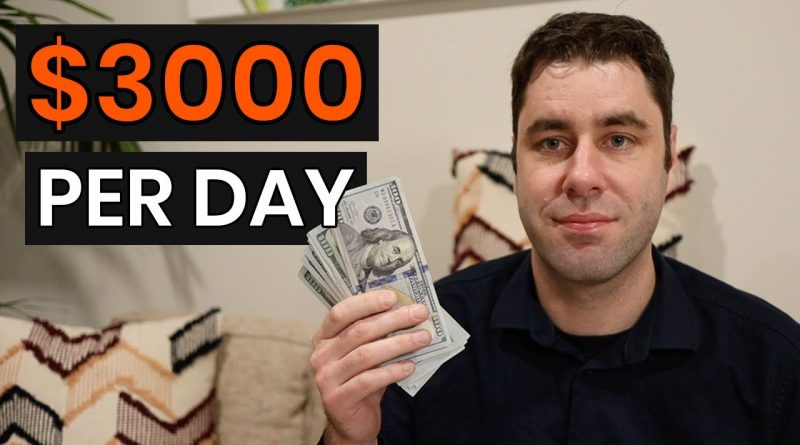 How I Make $3000 a Day Online With Google (Copy My EXACT Income Blueprint)