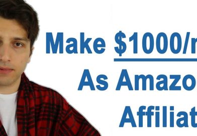 How to: $1000/m Amazon Affiliate Site (Case Study)